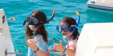 Ready for snorkeling